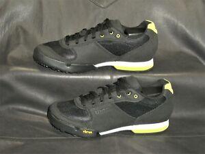 Giro Petra VR women's black mesh w/fabric trim lace up cycling shoes size US 6