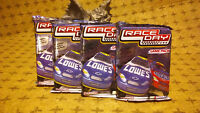 2005 WIZKIDS RACE DAY NASCAR: GAME PACK - PACKS ( 4 PACK LOT )