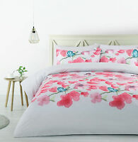 The Big Sleep Bianca Blossoms Quilt Doona Cover Set - SINGLE DOUBLE QUEEN KING
