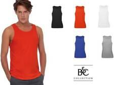 canottiera canotta uomo t-shirt senza maniche b&c cotone personalizzabile