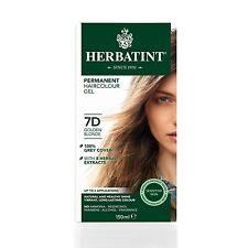 Herbatint Herbal Ammonia Hair Colour 150ml Golden Blonde 7d