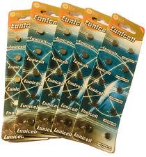 50 X AG4 Genuine EUNICELL 1.5V COIN CELL BATTERIES SR626SW G4A LR626 LR66 377A