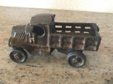 VINTAGE! COLLECTORS! CAST IRON DELIVERY TRUCK