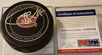 PSA/DNA COA  ANDREW SHAW SIGNED MONTREAL CANADIENS HABS OFFICIAL GAME PUCK