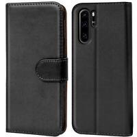 Handy Hülle Huawei P30 Pro Cover Schutz Tasche Slim Flip Case Bookcase Etui