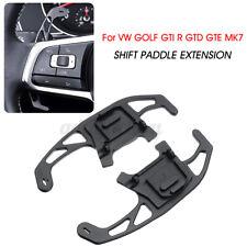 2x Steering Wheel Shift Paddle Extension For VW Golf Mk7 Gti R Gtd Gte 14-18