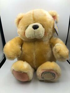 Hallmark Forever Friends Honey Blanc Couection Bear Plush Stuffed Toy Animal