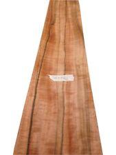 """Indian Apple / Tineo wood veneer  3200 x 160mm  / 125,9"""" x 6,29"""""""