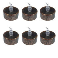 6 Pieces Flameless Votive Candle Battery Operated Flickering LED Tea Light