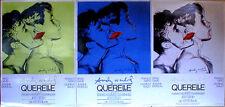 ANDY WARHOL - Querelle Set of 3 Green Blue Grey ORIGINAL 1982 FILM POSTERS Print