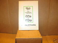 Home Freezing and Canning Book