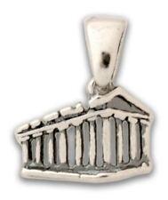 PARTHENON ~AKROPOLIS~ Silver Pendant-Charm ~Greek Art S