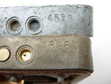 1965 IMPALA HI-PERF 396 / 425HP HOLLEY CARBURETOR METERING BLOCKS 4596 4519