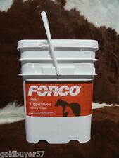 FORCO Equine Horse Feed Conditioner Supplement 25# pail