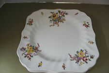 "ROYAL DOULTON OLD LEEDS SPRAY # 6203 SQUARE SALAD PLATE 7 3/4""  1912-1956"