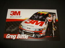 2012 GREG BIFFLE #16 3M NASCAR POSTCARD