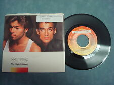 WHAM!- THE EDGE OF HEAVEN/ BLUE(LIVE IN CHINA) 45 RPM SINGLE