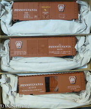 Accurail HO #8083 (3 Pack) Pennsylvania 40' PS-1 Steel Boxcars (Plastic Kits)