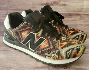 New Balance Mens Sneakers Size 10 574 Ricardo Seco Aztec