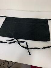 Server Bartender Black Apron With Pocket Tie In Back Clean 21 X 11