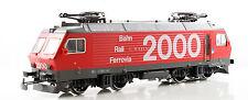 MARKLIN HO Re 4/4 IV BAHN RAIL FERROVIA 2000 RED ELECTRIC LOCOMOTIVE