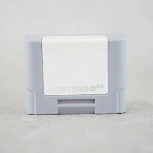 Original N64 Nintendo 64 Controller Pak NUS - 004 Retro Gaming /521