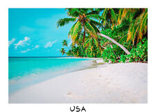 7x5ft Background Seascape Coco Tree Beach Photo Backdrop Photography Prop Studio