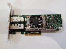 Dell Broadcom Dual Port 10GB SFP+ Fiber PCI-e x8 Fibre Full Height N20KJ 57810S