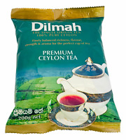DILMAH PREMIUM CEYLON BOPF BLACK TEA | 100% PURE CEYLON FINEST LOOSE LEAF TEA