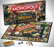 Monopoly: World Of Warcraft Collectors Edition Game Factory Sealed