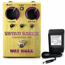 Way Huge Electronics Whe-103 Saffron Squeeze Compressor MkIi w/ 9v power supply