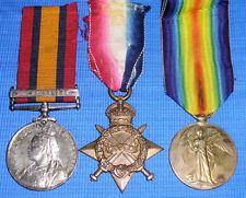 Boer war & WW1 Medal group, Welsh regt, Welsh Horse & R.Welsh.Fusiliers officer