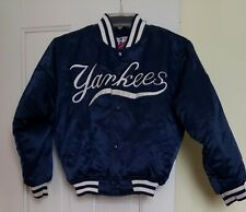* NEW YORK YANKEES * STARTER DIAMOND COLLECTION YOUTH SIZE SMALL * NAVY JACKET