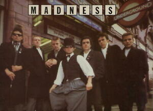 MADNESS - ABSOLUTELY UK LP - RARE ALTERNATIVE SLEEVE - ska vinyl record 2 tone