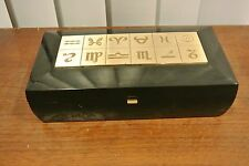 """Remembrance Musical Playing Card /Cigarette Box With """" The Anniversary song """""""