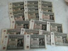 THIRD REICH German 5000 MARK banknotes 1922 COLLECTION LOT 2
