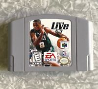 N64 NBA Live 99 Basketball Nintendo 64 Authentic Cartridge Cleaned & Tested FAST