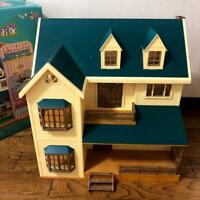 Sylvanian Families Calico Critters Green Hill House Epoch USED