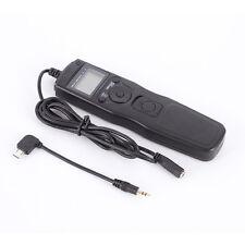 Timer Remote S2 for Sony A7 A7s A7R II 2 NEX3N A6300 A6000 A5100 RX100M2 RX100M3