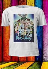 Rick And Morty Fan Art All Characters T-shirt Vest Tank Top Men Women Unisex 567