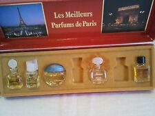 Vintage Les Meilleurs Parfums De Paris Miniatures X 4 PCS Women's Fragrance Rare
