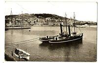 CPA 34 Herault Sète le Port et la Ville bateaux
