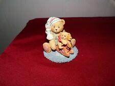 "Cherished Teddie ""Hans"" 912956 1993 ,Friends In Toyland.Bear Rocking Horse Fig."