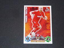 YALCIN FUSSBALL 1.FC KÖLN TOPPS MATCH ATTAX PANINI FOOTBALL BUNDESLIGA 2010-2011