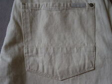SEVEN 7 FOR ALL MANKIND MENS THE STRAIGHT OFF WHITE SELVEDGE DENIM JEANS SIZE 28