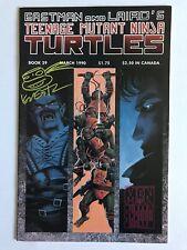 Kevin Eastman Signed Teenage Mutant Ninja Turtles Original Comic Book