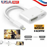 Lightning to HDMI Digital AV TV Cable Adapter For iPad iPhone X/XS/6/7/8 Plus US