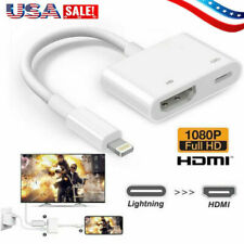 Lightning to HDMI Digital AV TV Cable Adapter For Apple iPad iPhone X/XS/8 Plus