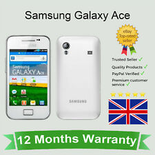 Unlocked Samsung Galaxy ACE GT-S5830 Android Mobile Phone - White