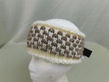 Steve Madden Two-Tone Warm Winter Knit Headband Ear Warmers Ivory Cream #5768